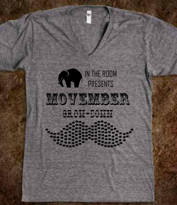 Movember Grow-Down T-Shirt