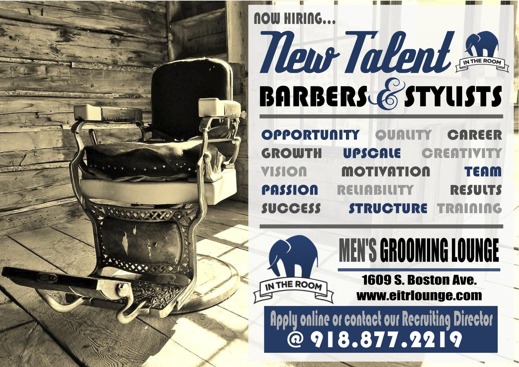 Elephant In The Room Tulsa Men S Haircuts Provider