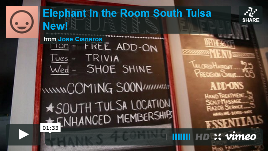 elephant in the room tulsa mens haircuts provider