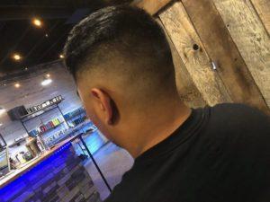 Mens Hair Broken Arrow